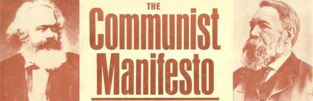 Marx and Engel's The Communist Manifesto