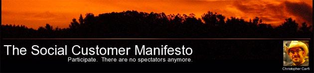 Christopher Carfi: The Social Customer Manifesto