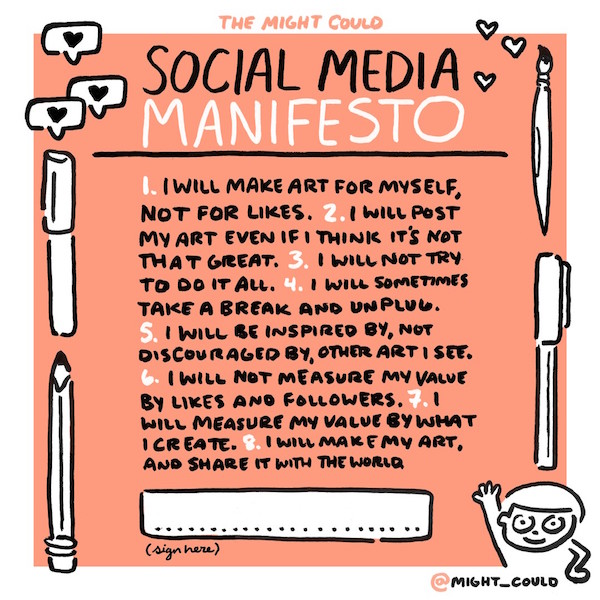 The Might Could Social Media Manifesto