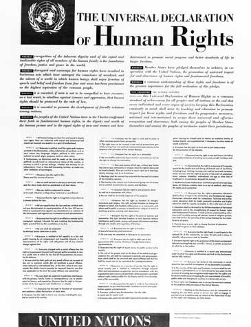 UN - Universal Declaration of Human Rights